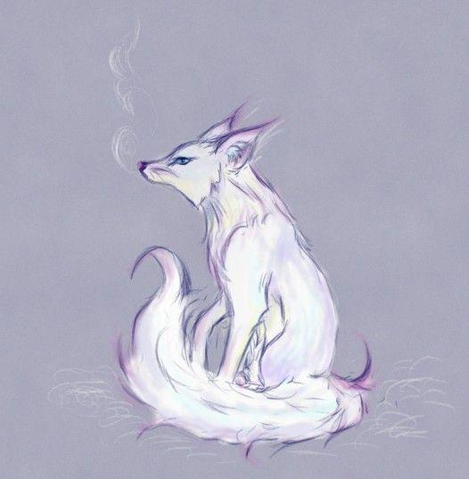 Arctic Fox by ~Aen-Riv on deviantART