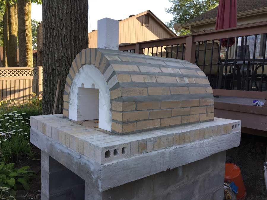 Wood Fired Brick Pizza Oven Stone Veneer Brickwood Ovens Brick