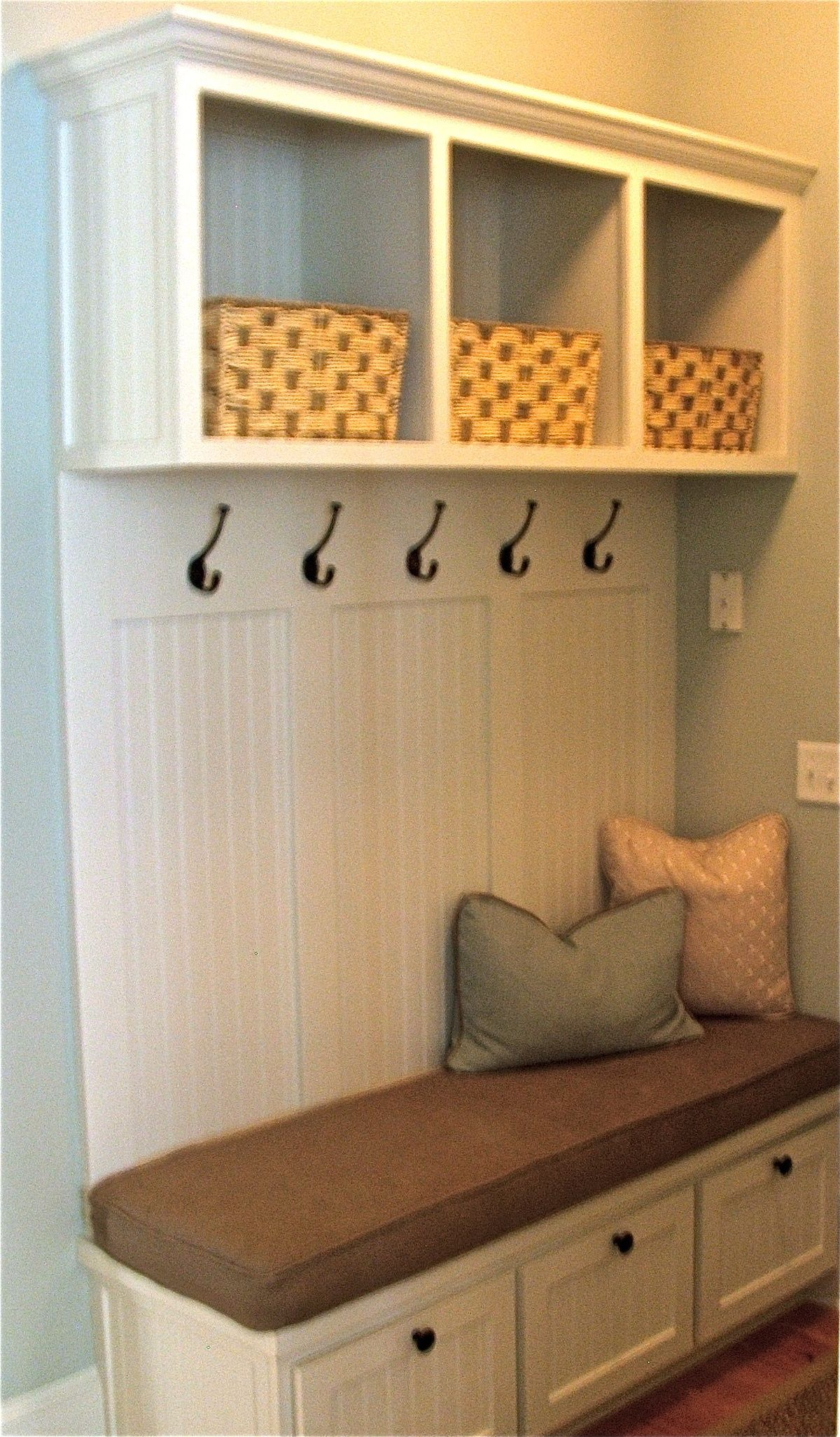 remarkable hallway storage furniture ideas | Pin by The Gilded Bee on Decorating Ideas in 2019 | Front ...