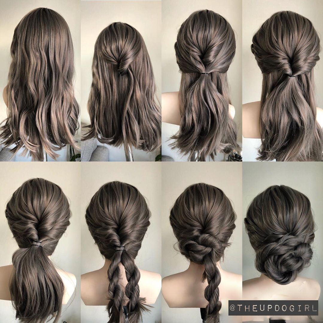 Its A Step By Step Kinda Day Let Me Know If You Like It Below I Used My Evahairofficial Wig In Col Hair Styles Easy Homecoming Hairstyles Long Hair Styles