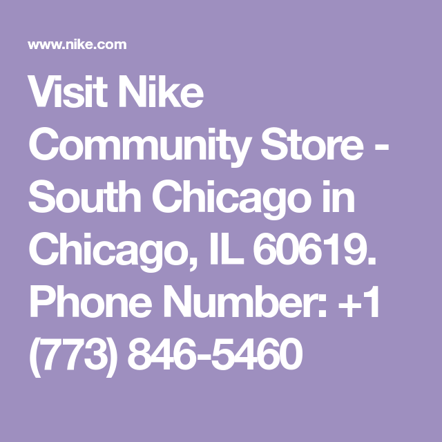 e76fe3d1b2 Visit Nike Community Store - South Chicago in Chicago, IL 60619 ...