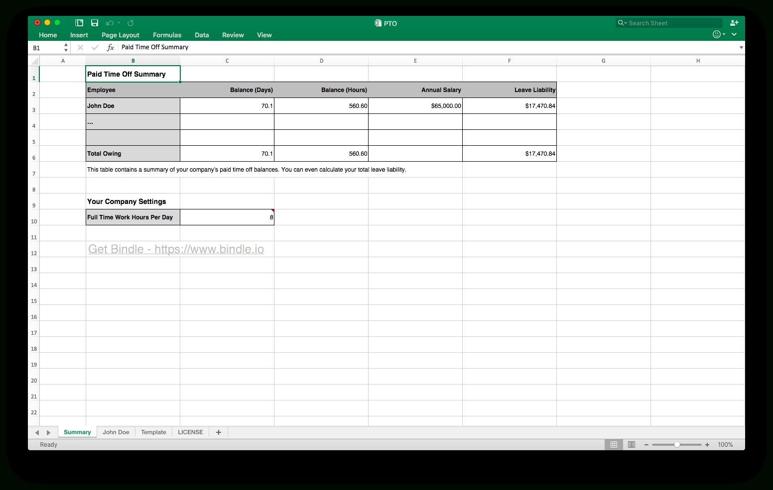 The Paid Time Off Tracking Spreadsheet Theme Is An Invaluable Tool