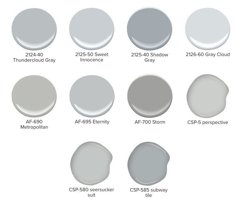 More Than 50 Shades Of Gray With Images Blue Gray Paint