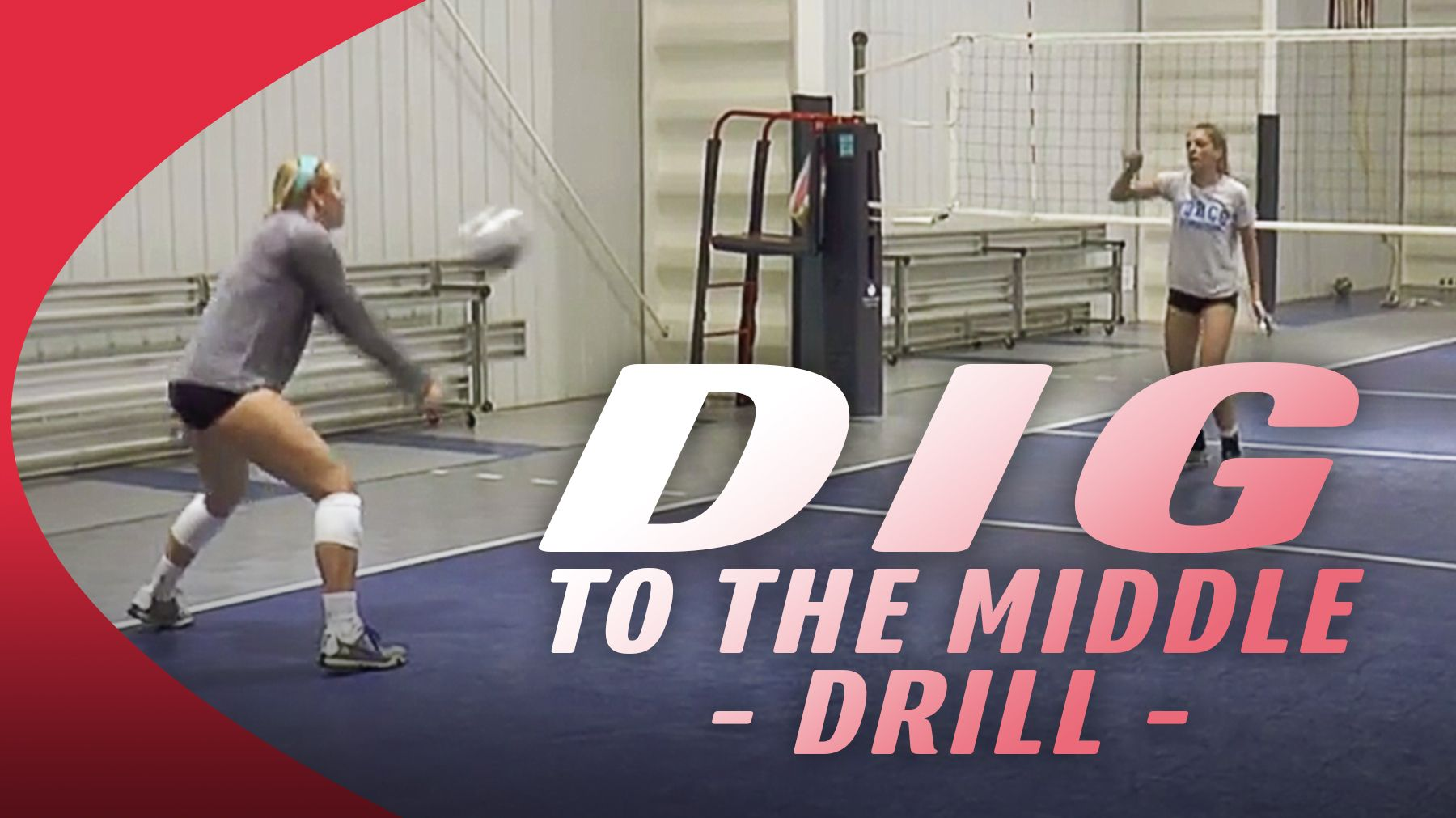 Jim Stone S Dig To The Middle Drill The Art Of Coaching Volleyball Coaching Volleyball Volleyball Drill