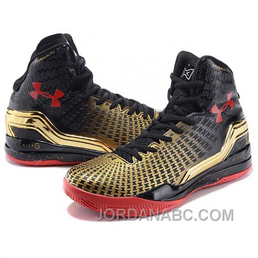 wholesale dealer 2ec68 9c453 http   www.jordanabc.com ua-clutchfit-drive-stephen-curry-one-mid-red-to-gold-basketball-shoes-top-deals.html  UA CLUTCHFIT DRIVE STEPHEN CURRY ONE ...