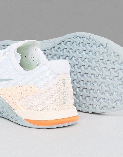 deporte melocotón en Training Zapatillas blanco de y Metcon Nike de A616wxqp