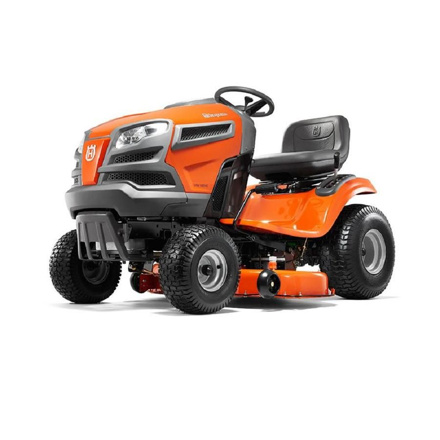 husqvarna yth18542 18.5-hp hydrostatic 42-in riding lawn mower with
