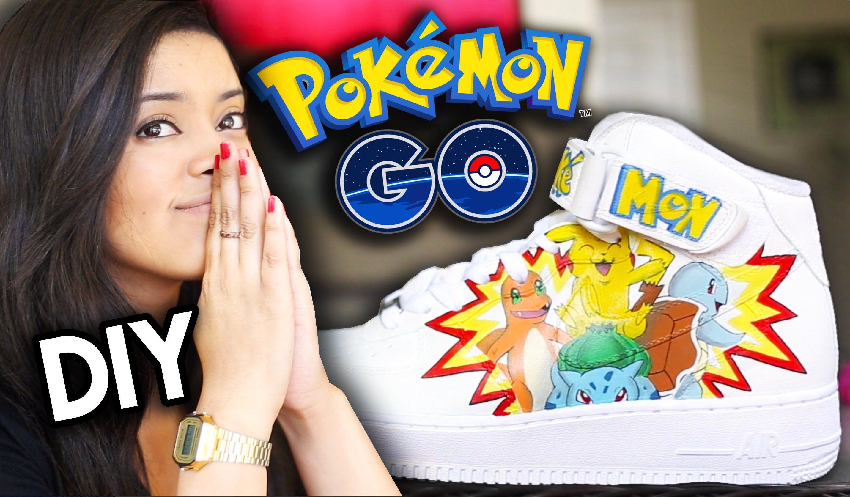 HOW TO: Pokemon Go Custom Shoes   Full Angelus Paint