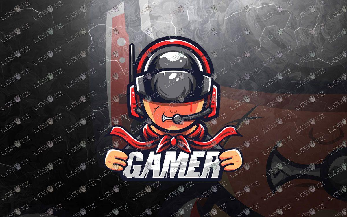 Awesome Gamer Esports Logo Gamer Mascot Logo Lobotz Game Logo Esports Logo Game Logo Design