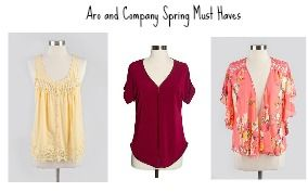 Some Aro and Company Spring Must Haves!  Check them out at www.aroandcompany.com and use the code CASUALCLAIRE10 for 10% off your order!