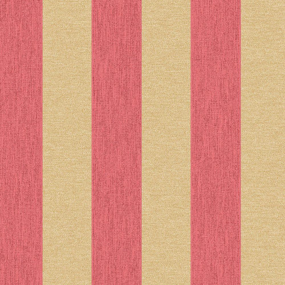 Peach Coral York Wallcoverings Waverly Classics WA7784 Lovers Lane Wallpaper