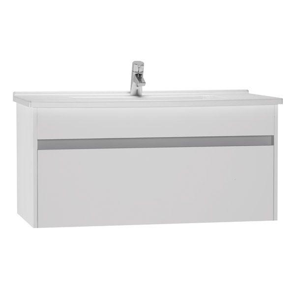 VitrA S50 100cm Washbasin Unit Including Basin