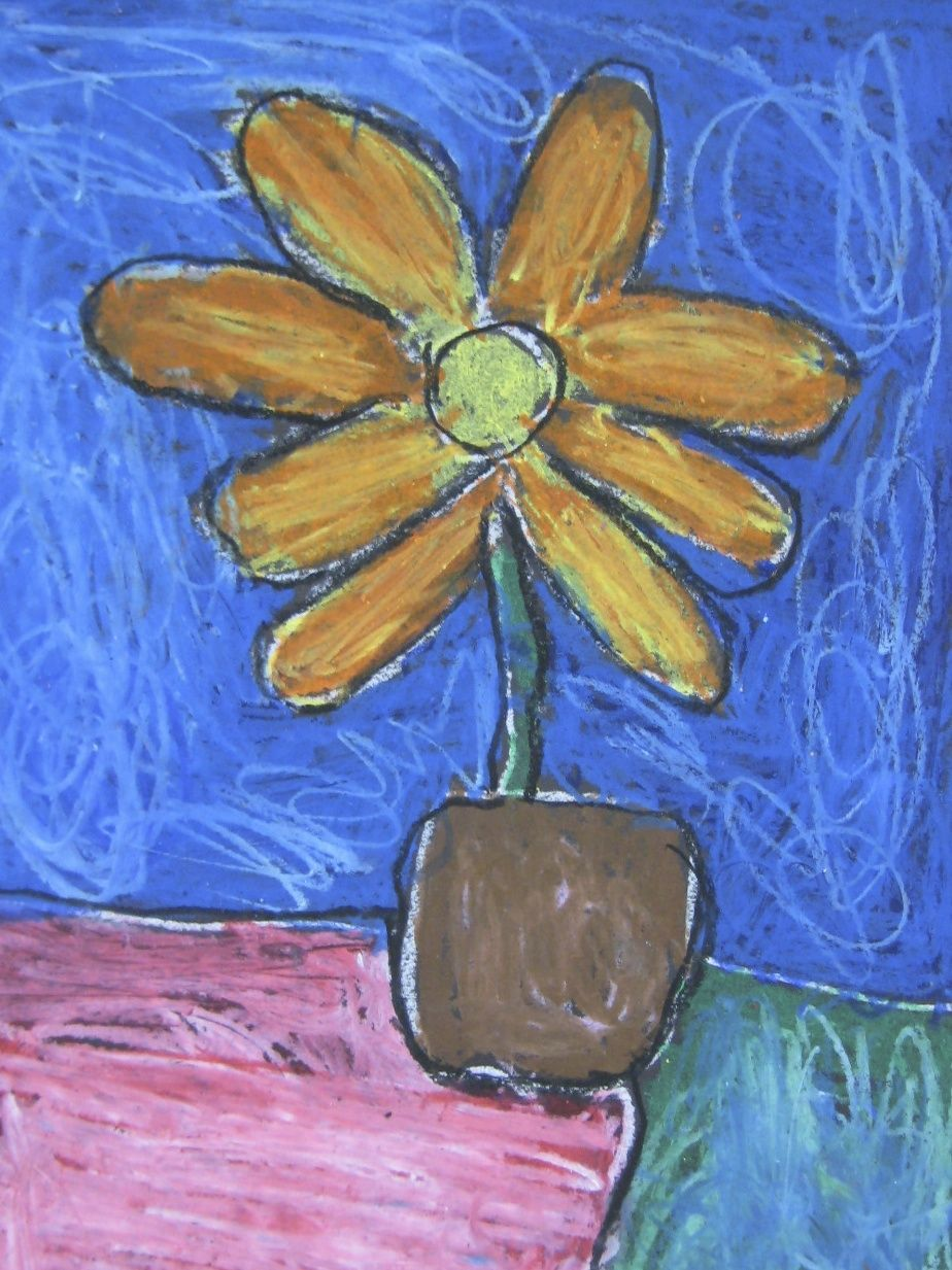 Download Your Free 5 Page Pdf With Images Flower Art Oil