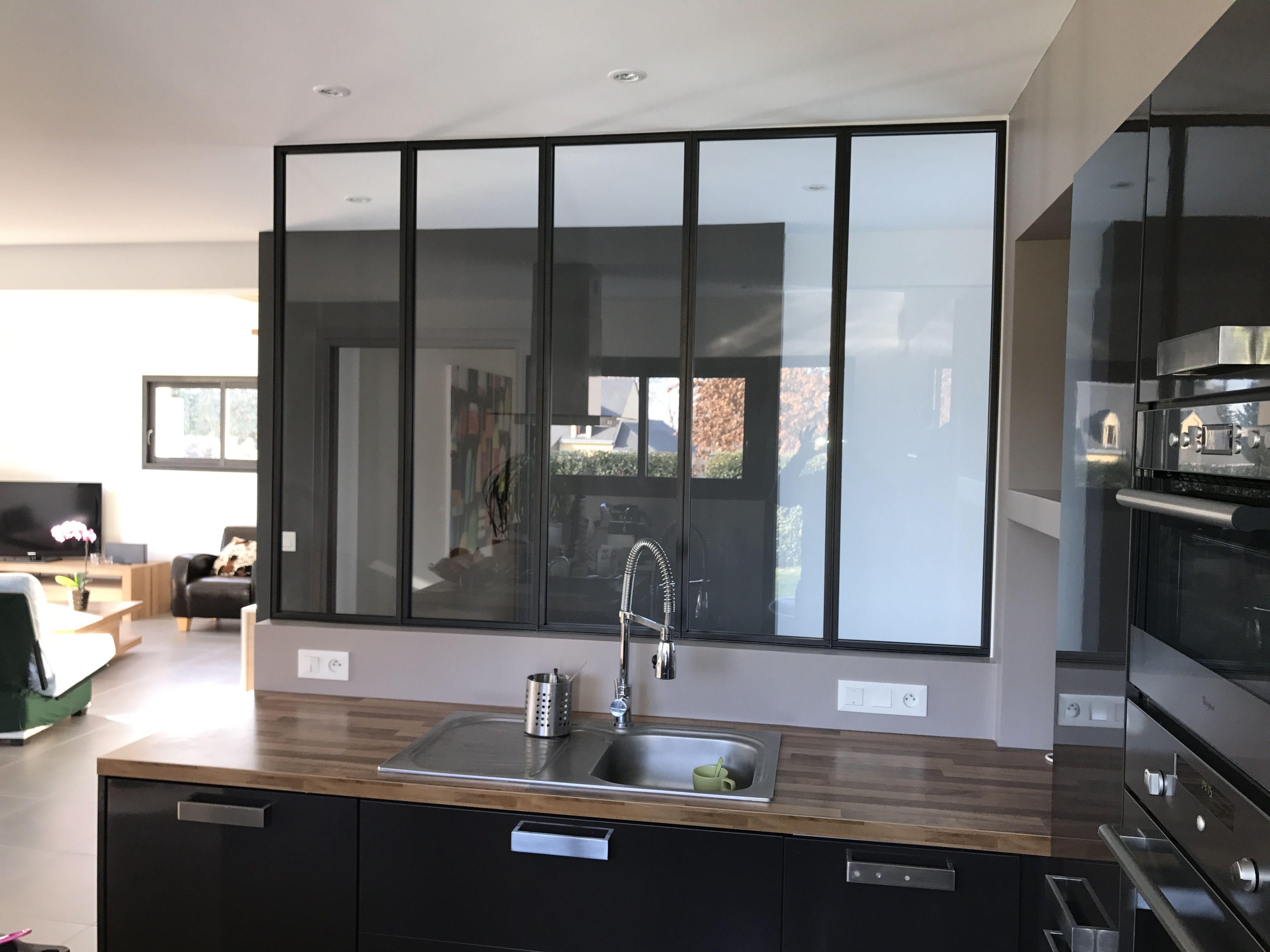 r sultat de recherche d 39 images pour cuisine noire. Black Bedroom Furniture Sets. Home Design Ideas