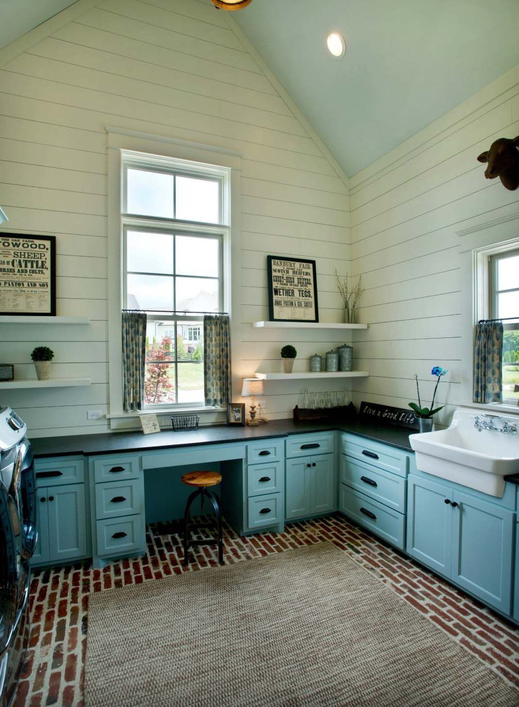 30+ Unbelievably inspiring farmhouse style laundry room