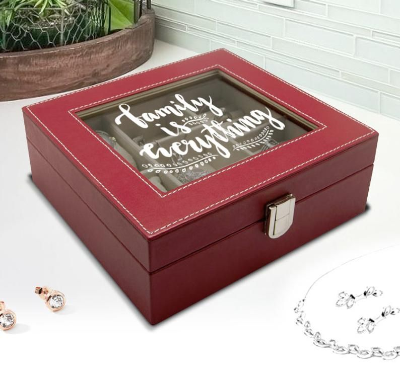 Personalized Jewelry Box For Teenage Girl Daughter Custom