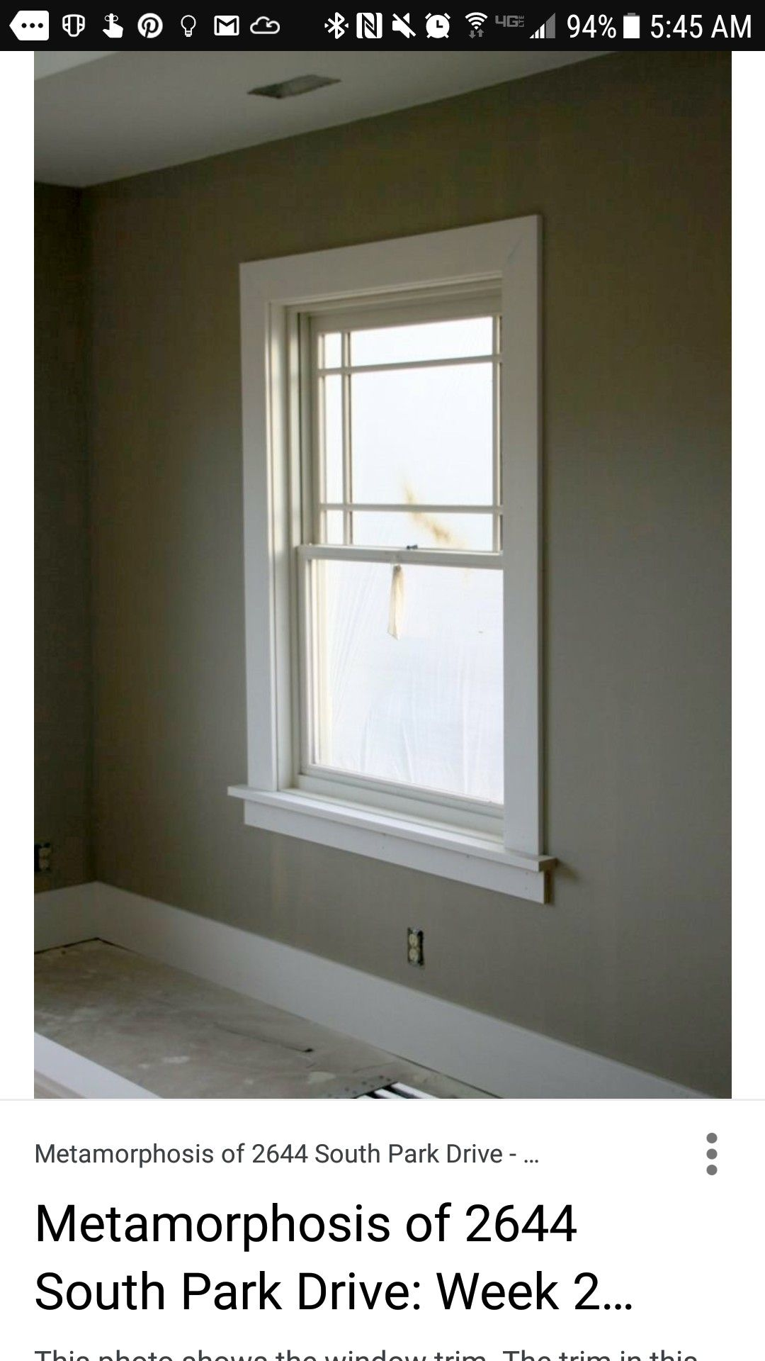 Flat Stock 1x4 Window Trim And Floor Board Moulding