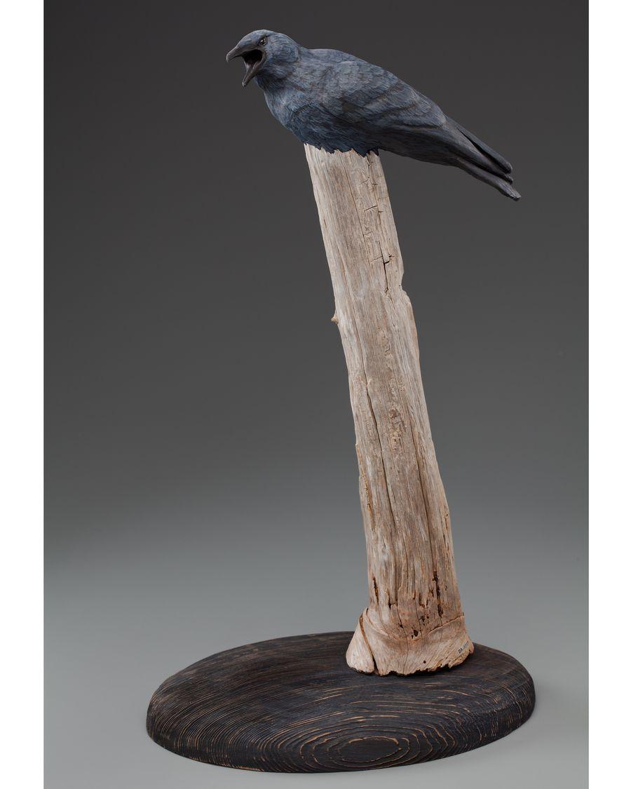 David Jackson: Crow, Ceramic