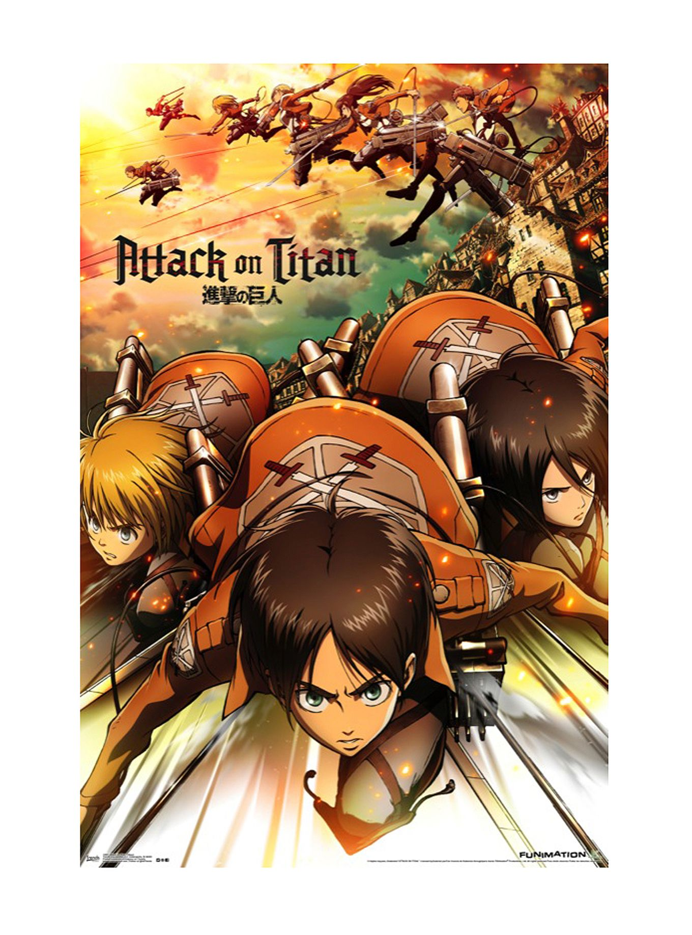 Attack On Titan Attack Poster Hot Topic Attack on