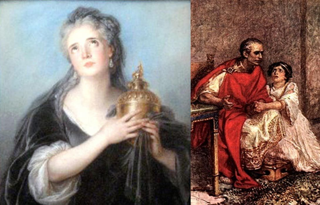How The Light Of The Wives Of Julius Caesar Was Dimmed By An