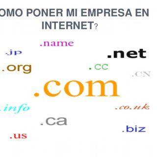 COMO PONER MI EMPRESA EN INTERNET?   FUNDAMENTOS DE NOMBRE DE DOMINIO Un dominio de Internet es una red de identificación asociada a un grupo de dispositi. http://slidehot.com/resources/como-poner-mi-empresa-en-internet-presentacion.38294/