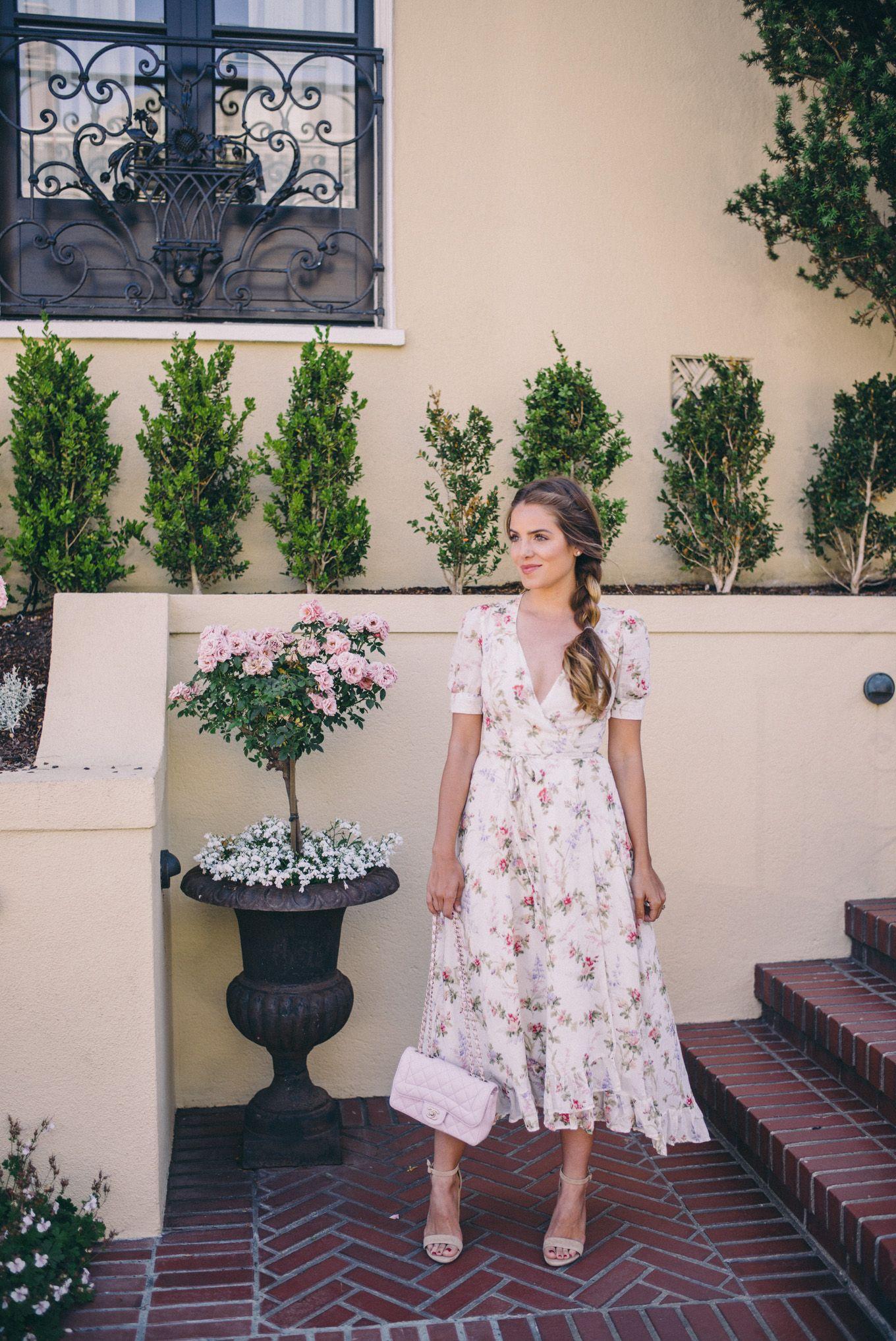 Gal Meets Glam Wedding Guest Dress Ralph Lauren Supply And Steve Madden Heels