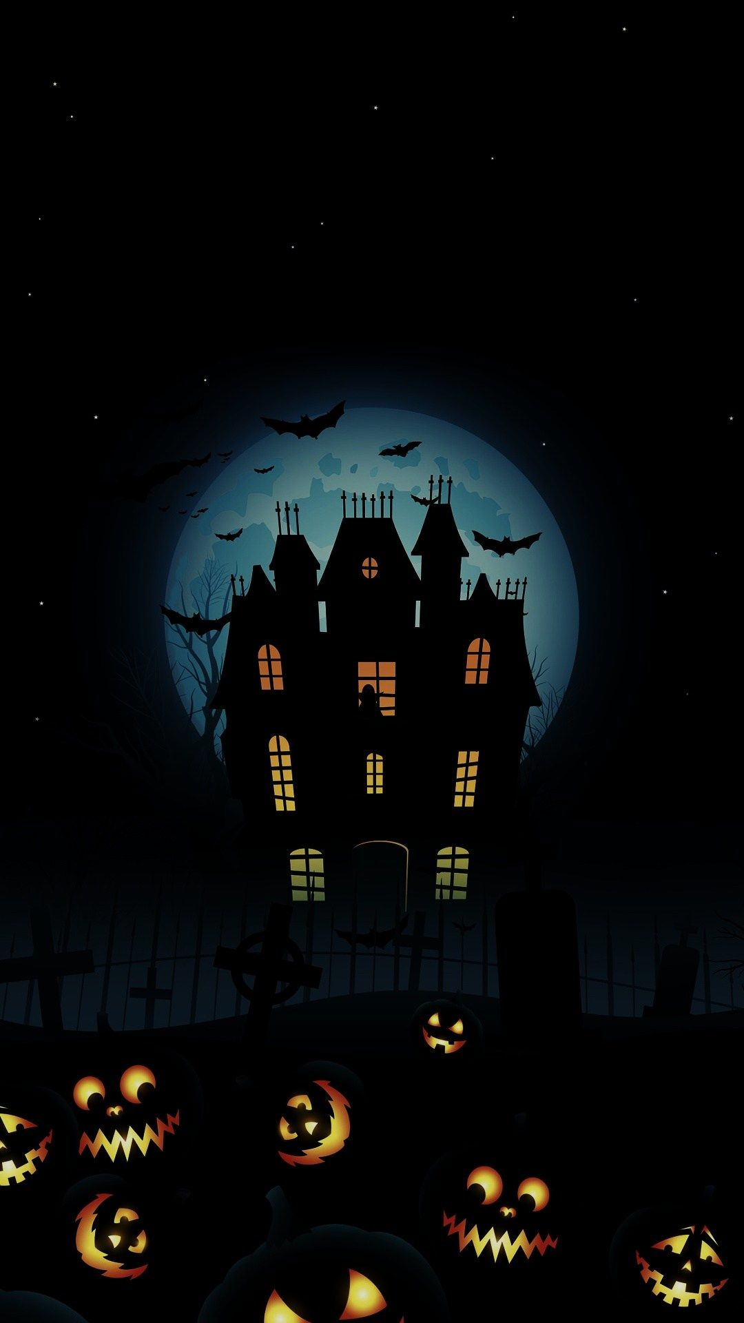 Halloween Wallpaper Graphic 2020 iPhone 11 Pro Wallpaper in 2020 | Halloween wallpaper, Halloween
