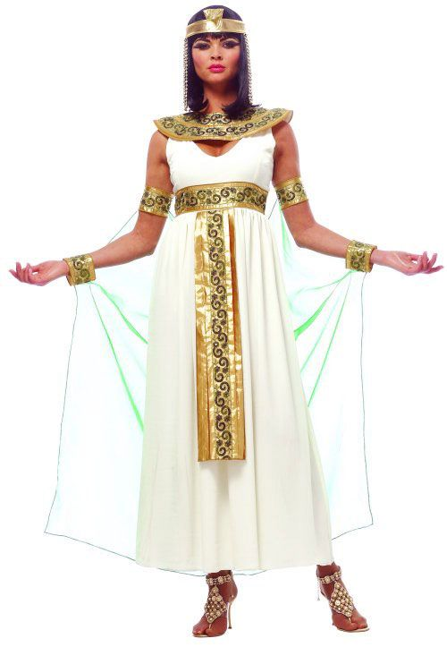 ac1c45ea8481 Pin by Eva Kaya on spooky food, costumes and decores | Cleopatra Costume,  Egyptian queen costume, Adult costumes