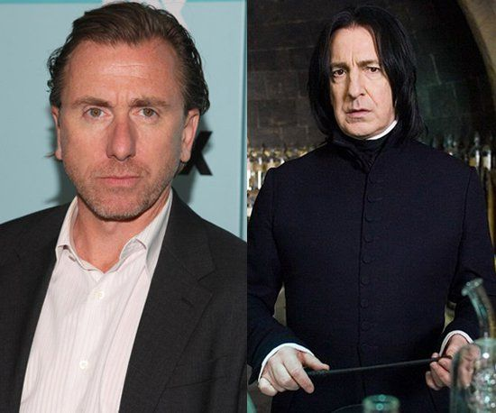 Pin for Later: 10 Actors Who Were Almost Cast in Harry Potter Tim Roth as Severus Snape