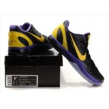a171f80f44d8 Nike Zoom Kobe VI Mens Basketball Shoe Purple Black Yellow a