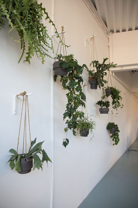 You can next hang planters from freestanding hooks to ensue a bit of peak to your garden beds or dangle blossom pots from a large tree in your yard