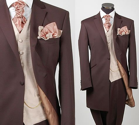 Groom Attire Hmmm Color Scheme Thoughts Brown Wedding Suits