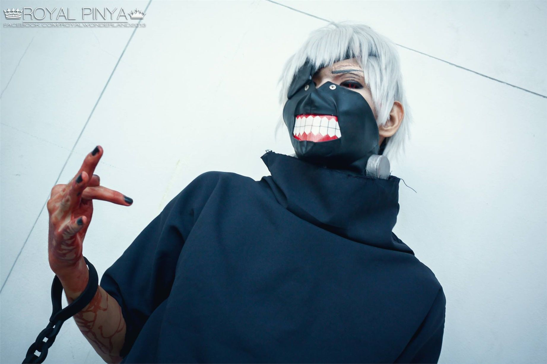 Joshua(Shu) Ken Kaneki Cosplay Photo