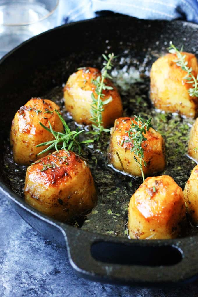 Fondant Potatoes Recipe With Russet Idaho Potatoes Eating European Recipe Fondant Potatoes Potato Recipes Side Dishes Easy Potato Recipes