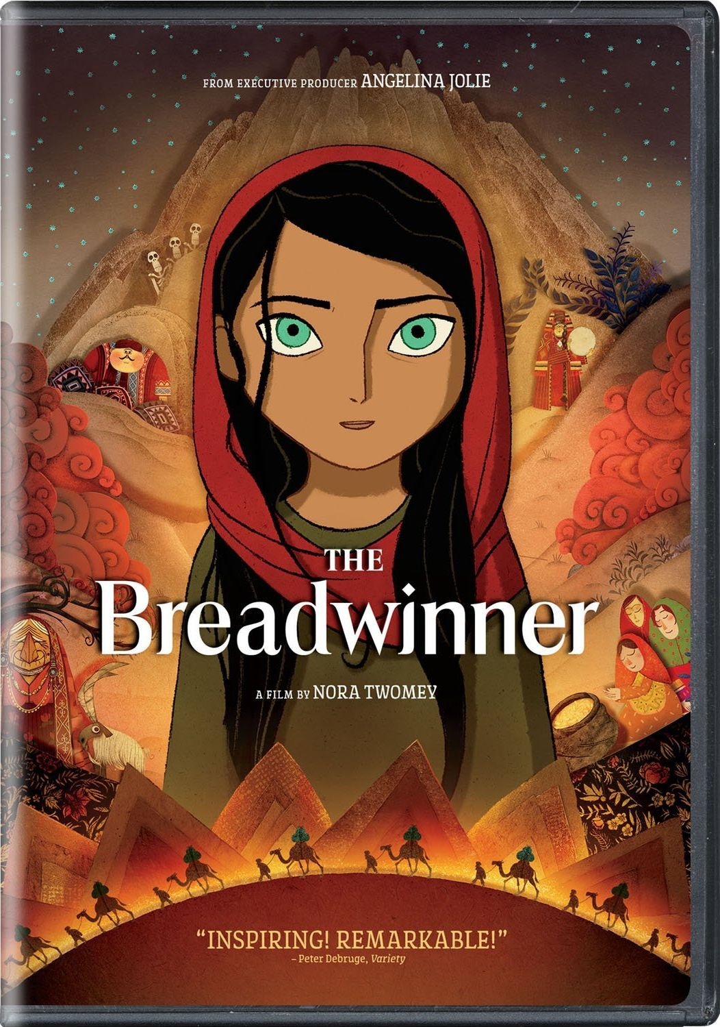 'The Breadwinner' (2017) Animated movie posters