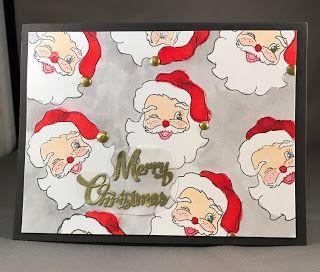Samantha's Cards: Santa card