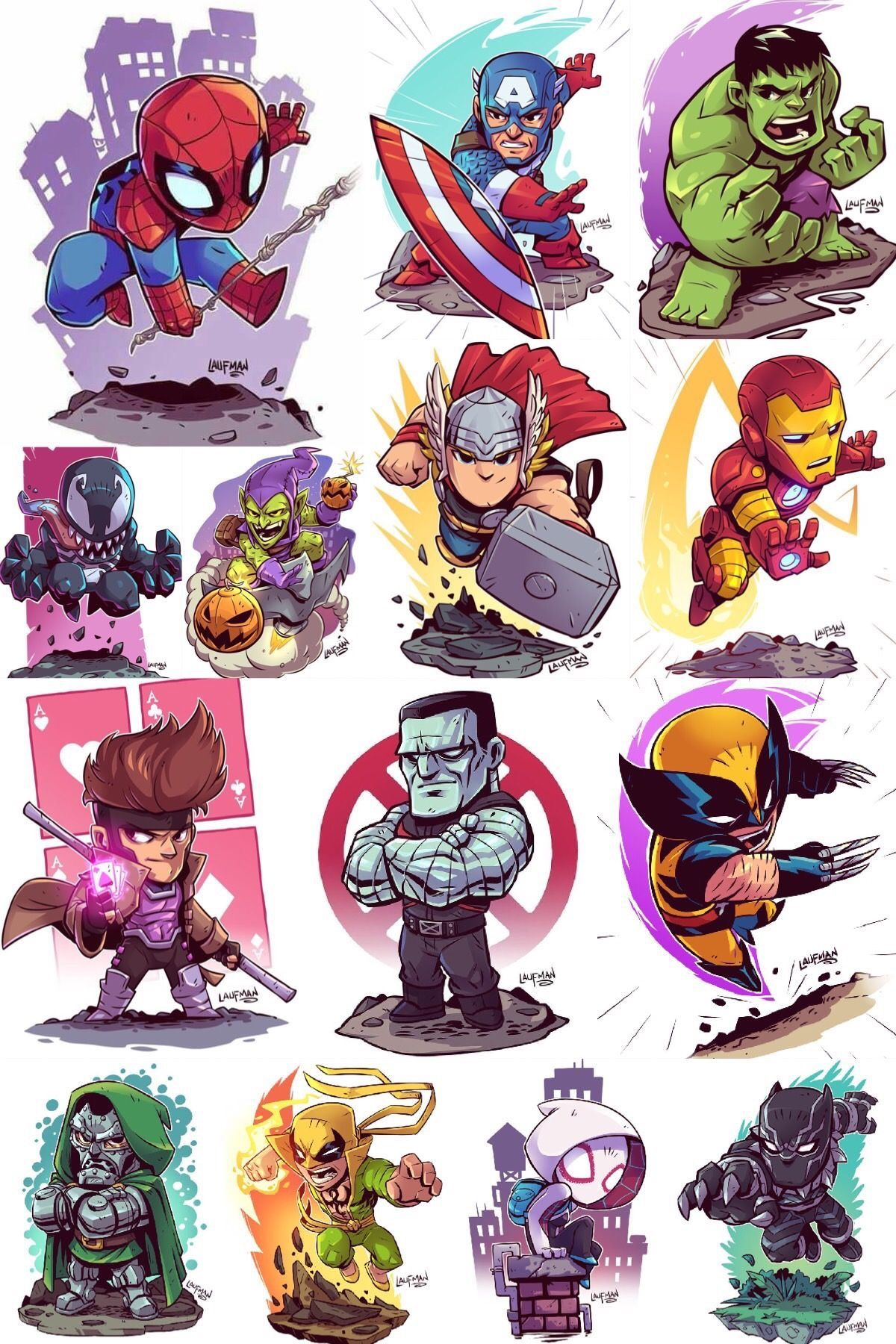Marvel comics comic book artwork marvel characters by