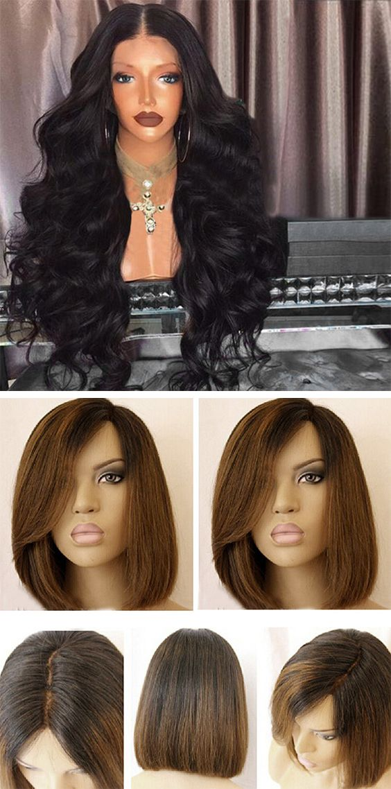 Pin On Lace Wigs