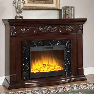 Electric fireplaces and …
