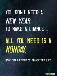 Never miss a MONDAY!! Words I live by. Starting off the week right is so important to a healthy lifestyle.