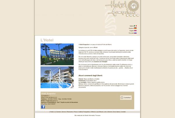 http://www.hotelacapulco.it/ Hotel in Versilia, Forte dei Marmi