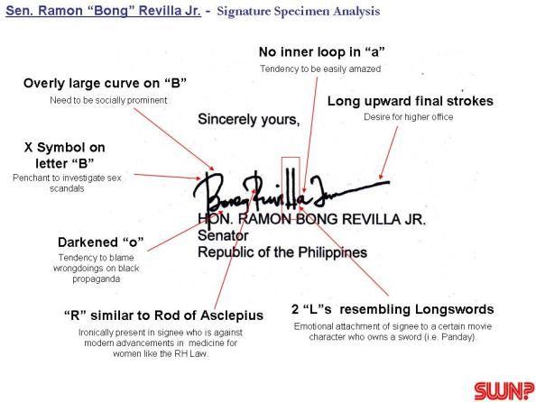 Handwriting Expert Reveals Signature Analysis Of  Senators Facing
