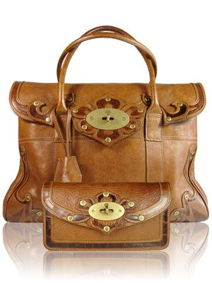 f3df527742 Mulberry tooled Bayswater and purse in Oak. Far and away my favourite  handbag- a classic Bayswater but so unusual