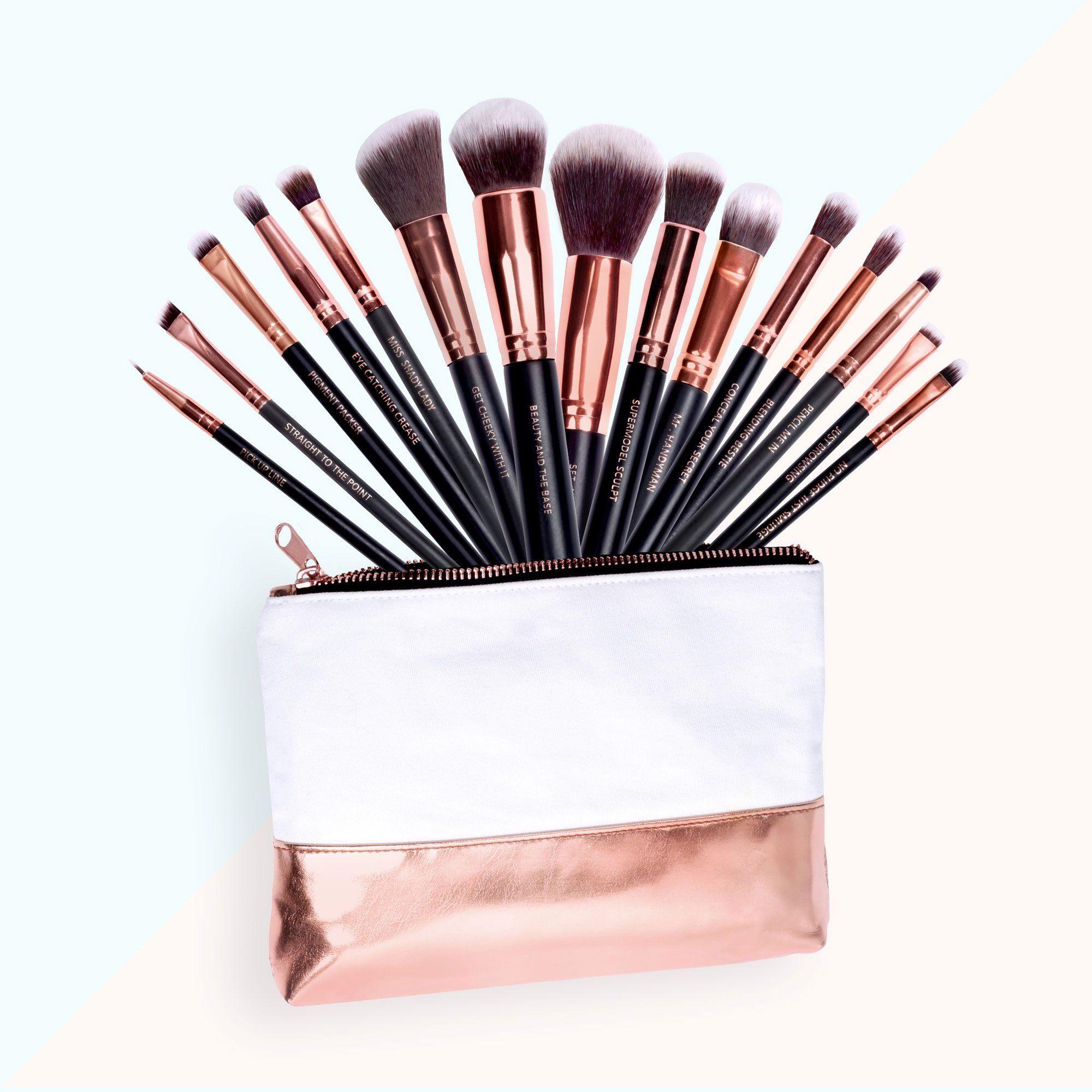 Lux Vegan Makeup Brush Set (With images) Vegan makeup