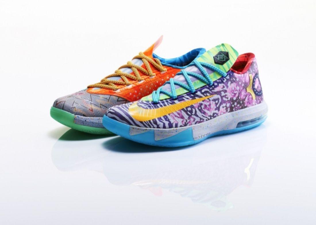 Nike KD VI Premium Hoop PurpleUrgent OrangeShark