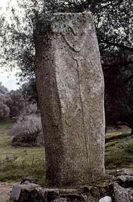 Menhir de Filitosa (Córcega - Francia)