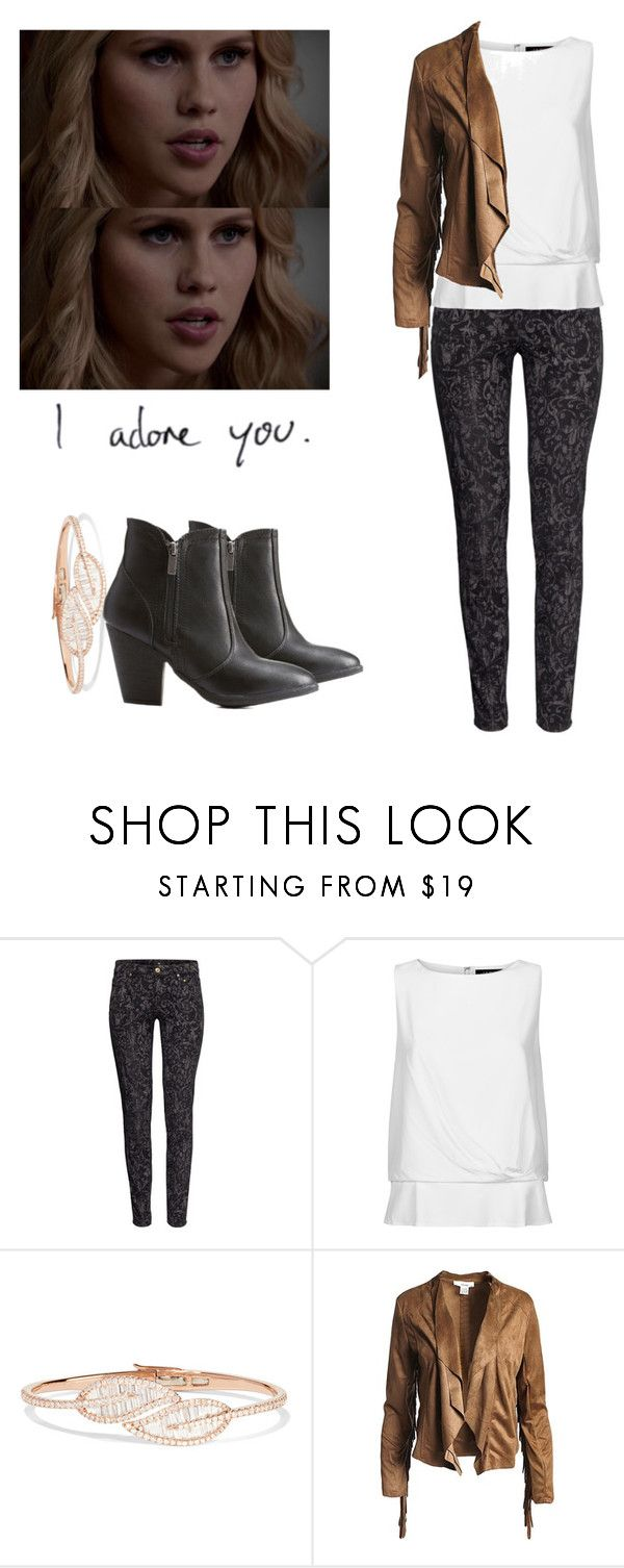 """""""Rebekah Mikaelson - The Originals"""" by shadyannon ❤ liked on Polyvore featuring H&M, Jaeger, Anita Ko, Sans Souci and Dollhouse"""