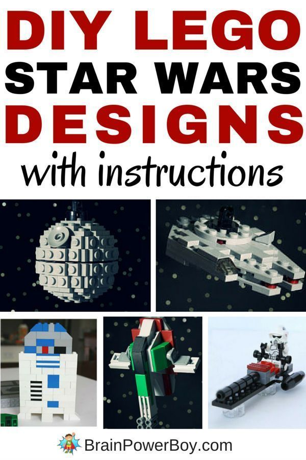 Incredible Lego Star Wars Designs You Can Build Pinterest Lego