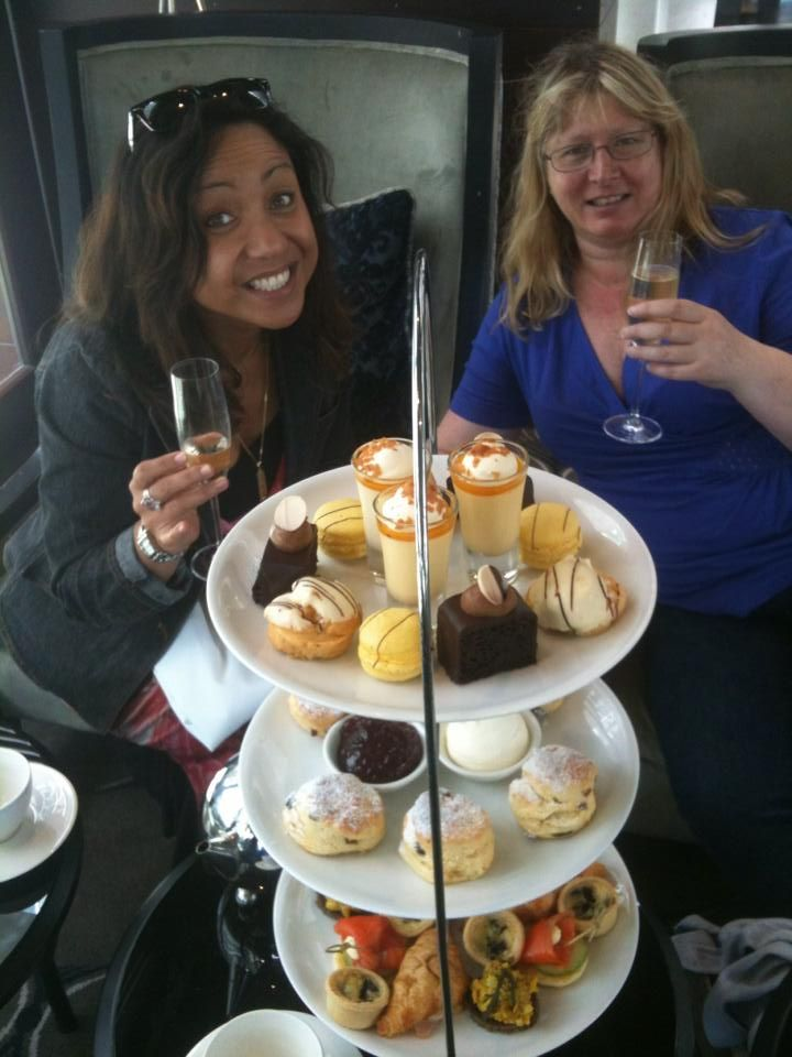 High Tea & Champagne a fusion of English & French refinery