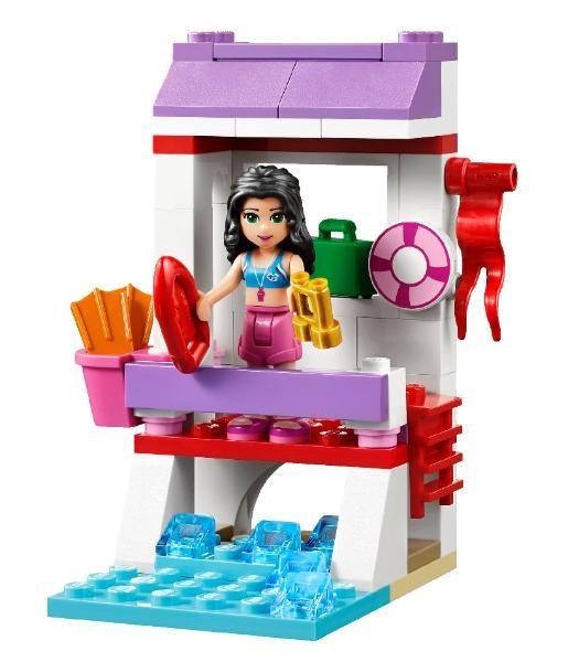 Lego Friends Emmas Lifeguard Stand 41028 2014 Lego Friends Sets
